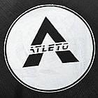 Батут Atleto 490 см. двойные ножки с защитной сеткой и лестничкой, фото 8