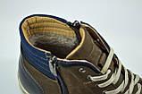 Чоловічі нубукові черевики коричневі Affinity 2875 - 26, фото 2