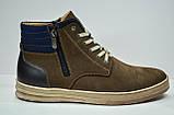 Чоловічі нубукові черевики коричневі Affinity 2875 - 26, фото 3