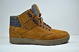 Чоловічі нубукові черевики руді Affinity 2976 - 23, фото 2