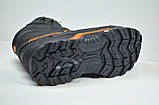 Чоловічі шкіряні кросівки чорні зимові Reebok Р. Р., фото 4
