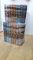 Банные полотенца махра узоры упаковка 8 шт.