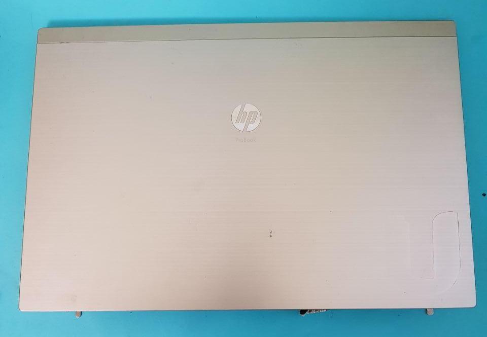 Задняя часть дисплея металлическая крышка  Разборка ноутбука HP 4520S