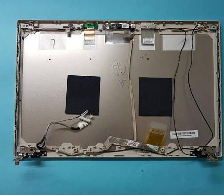 Задняя часть дисплея металлическая крышка  Разборка ноутбука HP 4520S, фото 2