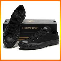 Кеды Converse Style All Star 2 Черные низкие (45р) Тотальная распродажа