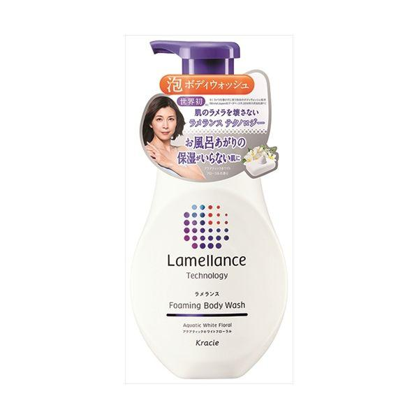 Kracie Lamellance Foam Body Wash Ламеллярная гель-піна для душу, квітковий аромат, 480 мл