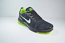 Кросівки чорні з зеленим Nike Air Presto (1988-3)