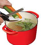 Кухонные ножницы нож 2 в 1 Smart Cutter, фото 4