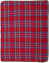Коврик для пикника пляжа отдыха KingCamp Picnik Blanket 175 x 135 см красный