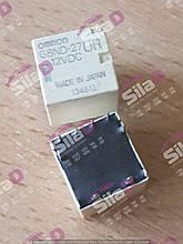 Автомобильное реле G8ND-27UR 12VDC Omron 8-контактное двойное реле