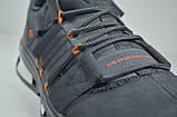 Мужские замшевые кроссовки серые в стиле EQUIPMENT (52123), фото 2