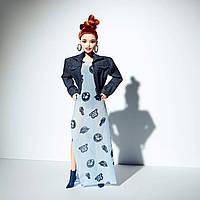 Барби Оригинал в стиле Марни Сенофонте Аква мини кукла Barbie Styled By Marni Senofonte (FJH76) (887961537208), фото 1