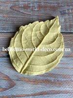 Молд лист Гортензии реалистичный, 9смх6,5см