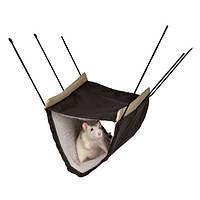 Trixie (Трикси) Hammock with 2 Storeys Утеплённый двухэтажный гамак для грызунов подвесной 22 × 15 × 30 см
