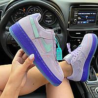 """Кроссовки женские Nike Air Force 1 LXX """"Purple Agate"""" (Фиолетовый)  в стиле Найк Аир Форс 1"""