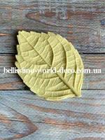 Молд лист Гортензии реалистичный, 7,8смх5,2см