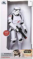 Кукла фигурка Штормовик звездные войны говорящий 33 см Stormtrooper Talking Figure Star Wars оригинал Disney