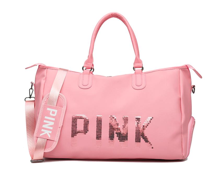 Женская  спортивная сумка PINK