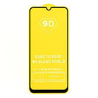 Защитное стекло TDG 9D для Vivo Y15 Full Glue черный 0,26 мм в упаковке