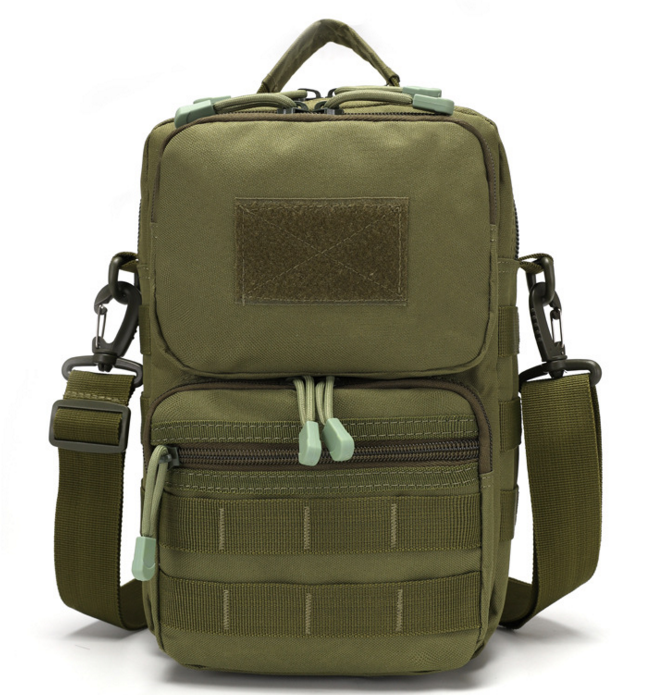 Сумка тактична наплічна, міська сумка - органайзер MOLLE олива