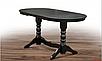 Большой, обеденный стол из массива дерева- Говерла (венге шоколад), фото 2