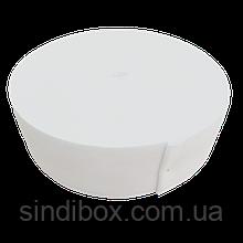 Широкая бельевая резинка для одежды Sindtex белая 5 см х 22,5 м (СИНДТЕКС-0058)