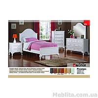 Кровать односпальная из массива дерева Эмилия