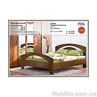 Двуспальная кровать из массива дерева Лидия