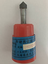 Борфреза (шарошка) цилиндрическая форма K, с одинарной заточкой K0804M06