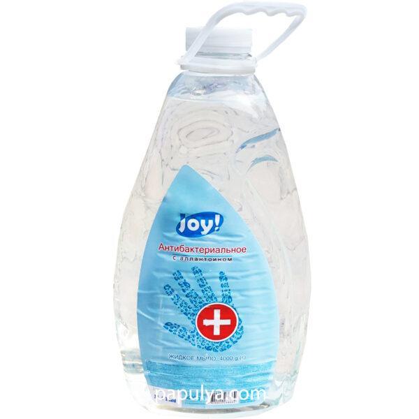 Жидкое мыло антибактериальное с аллантоином Joy 4 л