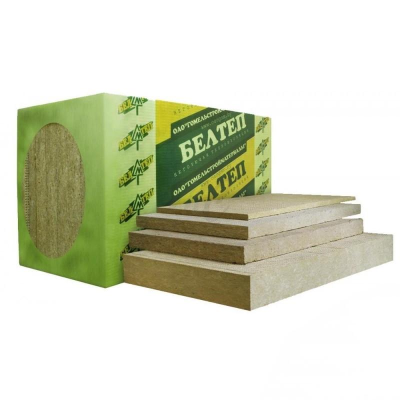 Утеплитель БЕЛТЕП ВЕНТ 50 (80 кг/м.куб) Толщина - 50мм. Для вентилируемых фасадов (Беларусь)