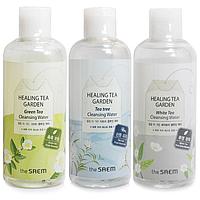 Вода для снятия макияжа The Saem «Healing Tea Garden Cleansing Water» White Tea
