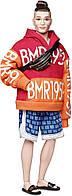Оригинальный Барби Кен коллекционная в оранжевой толстовке и шортах Barbie BMR1959 (GHT93), фото 1