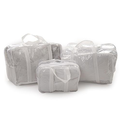 Набор сумок в роддом Twins 01 white