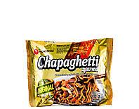 """Локшина швидкого приготування з чорним соєвим соусом """"Чачжан"""" Chapaghetti Nong Shim 140 г"""