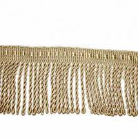 Бахрома солар спираль, св. золото 5 см