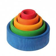 Пирамидка круглая разноцветная Grimms