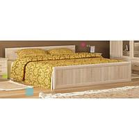 Кровать двуспальная в спальню из ДСП Соната Мебель Сервис с ламелями