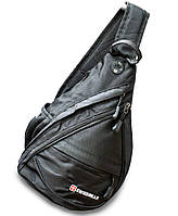 🔝 Однолямочный рюкзак, слинг, Wenger SwissGear Small Swiss Sling, маленький рюкзачок, молодежный | 🎁%🚚