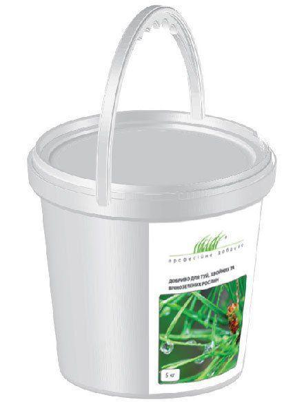 Удобрение для туй, хвойных и вечнозеленых растений 5 кг