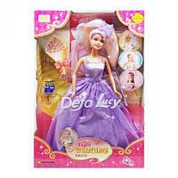 """Кукла """"Defa: невеста"""" фиолетовый  scs"""