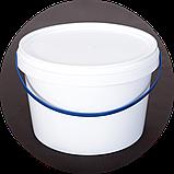 Ведро пластиковое пищевое 2.3 л (упаковка 50 шт). Бесплатная доставка!, фото 2