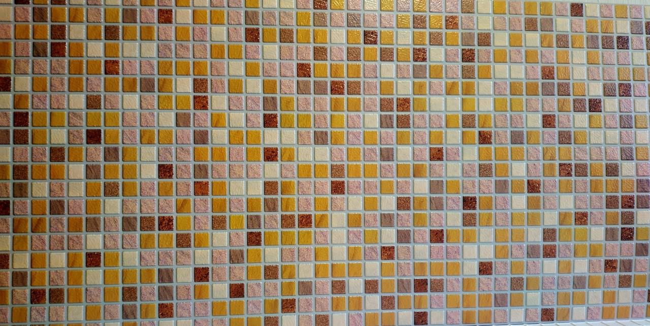 Декоративна пластикова листова панель ПВХ Регул Пісок савоярский 0,4мм 956*480 мм