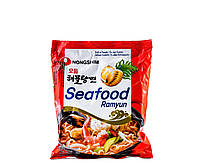 Локшина Рамен швидкого приготування з морепродуктів Seafood Ramyun Nong Shim 125 г