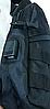 Тактическая сумка-рюкзак, бананка на одной лямке USB черная, фото 2