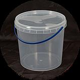 Ведро пластиковое пищевое 3.3 л (упаковка 50 шт). Бесплатная доставка!, фото 2