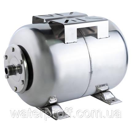 Гидроаккумулятор горизонтальный 50л (нерж) WETRON (779213), фото 2