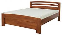 Кровать двуспальная в спальню из натурального дерева Рондо Мебель Сервис