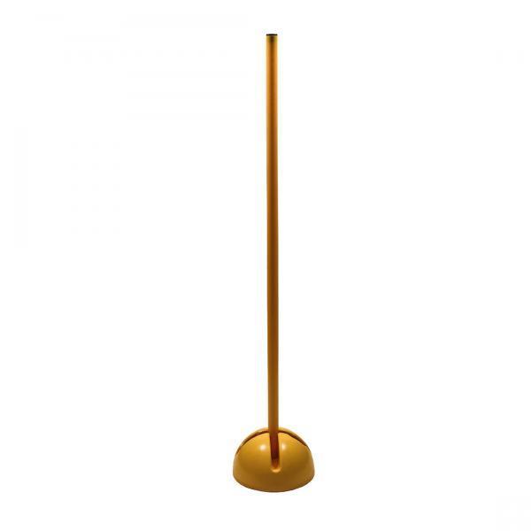Стойка дриблинг с базой для помещения (оранжевая,жёлтая )1 м