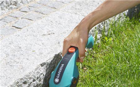 акумуляторні ножиці для газону Гардена